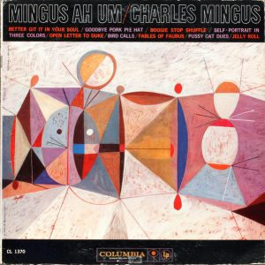pochette cubiste de l'album mingus ah um