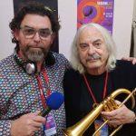 arnaud rykala et enrico rave posant au festival tourcoing jazz