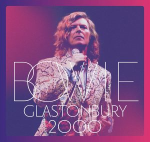 pochette de l'album glastonbury 2000 de David Bowie