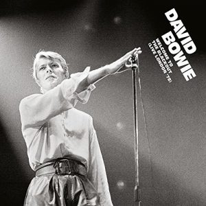 pochette de l'album welcome to the blackout de David Bowie