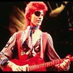 David Bowie en concert en 1970