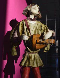 santon Joueur de vielle à roue de Malook