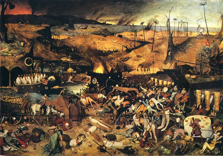 Pieter Brueghel l'Ancien – Le Triomphe de la Mort, ca 1562 (Madrid, musée du Prado)
