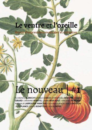 Couverture du numéro 1 de la revue. L'illustration est une planche du 18e siècle représentant une tomate